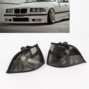 New L+R EURO Corner Smoke Light for BMW E36 3-SERIES 2DR Coupe/Convertible 92-98