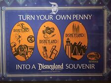 Disneyland Decade Pressed Penny 2005-2014 60th Anniversary Set of 3 Decades
