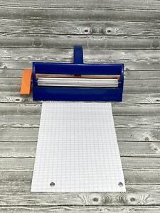 """Fiskars Paper Crimper Tool Extra Wide Fits Paper Up To 6 1/2 """"  Paper  Crafting"""