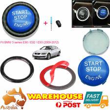 Car Start Button Switches Ring Replace Kit For BMW E Series E60 E70/71 E90 Blue