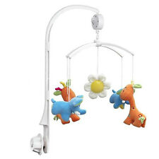 DIY 4Pcs Baby Crib Mobile Bed Bell Toy Holder Arm Bracket Nursery For Doll Hot A