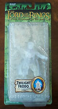LOTR TWILIGHT FRODO W/ SWORD ATTACK ACTION. FELLOWSHIP OF THE RINGS. NOC