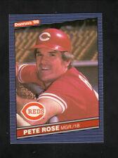 Pete Rose--Cincinnati Reds--1986 Donruss Baseball Card