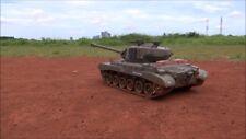 WW2 World War Snow Leopard M26 1:16 RC FUMO Sound 2.4ghz TANK Model