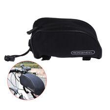 1pc Bike Front Top Tube Bag Cycling Basket Bicycle Frame Bag Bike Saddle Bags`LD