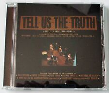 TELL US THE TRUTH - LIVE CONCERT RECORDING - 2003 ARTEMIS RECORDS - LIKE NEW