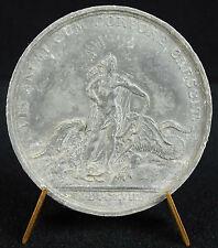 Médaille Apollon victorieux du monstre Python 1718 Louis XV d'ap Du Vivier medal