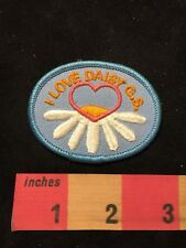 I LOVE DAISY GIRL SCOUTS Patch 87N5
