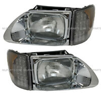 International 9200 9400 5900 Headlight with LED CORNER LAMP  - LH & RH