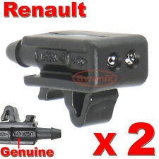 RENAULT MEGANE LAGUNA SCENIC FRONT WINDSCREEN WASHER JETS NOZZLE WATER JET
