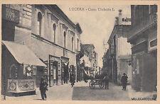 * LUCERA - Corso Umberto I