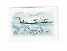 Air Dolomiti airlines issued CRJ 200  cont/l  postcard
