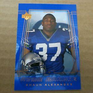 Shaun Alexander RC 2000 Upper Deck Star Rookie #240 Seattle Seahawks U Alabama