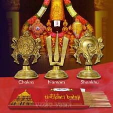 Vedic Vaani Panchajanya Shankh Chakru with Tirupati Balaji Incense - 100 GM
