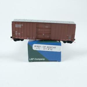 LBF Company N Scale Canadian Pacific CP 50' High Cube Plug Door Boxcar 5521 (B)