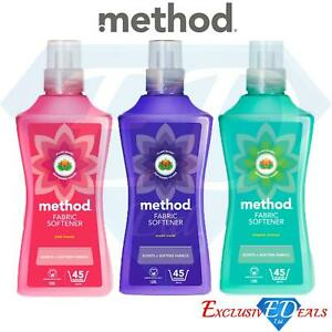 Method Fabric Softener 1.575L Plant-Based, Scented, 45 Washes, Cruelty Free