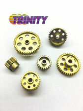 TRINITY 48P Light Weight HD Anodised Aluminum Even Pinion Gear 18T-44T (1) NEW!!