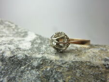 Vintage Ring / Damenring / Solitärring - Brillant 0,2ct - 750/ 18kt Gold