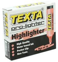 TEXTA PRO-LIGHTER HIGHLIGHTER PINK STATIONERY SCHOOL OFFICE SUPPLIES N STABILO