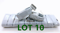 10PCS USB Data Sync Cable Cord Charger for iPhone 4 4G 4S 3GS iPod Nano Touch 4G