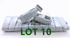 LOT10 USB Data Sync Cable Cord Charger for iPhone 4 4G 4S 3GS iPod Nano Touch 4G
