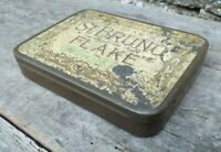 Collectable c1930's Vintage Tobacco Tin - Ogden's of Liverpool St Bruno Flake