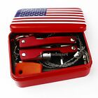 Self Help Outdoor Sport Camping Hiking Survival Emergency Gear Tools Box Kit Set