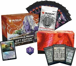 Gift Bundle Adventures in the Forgotten Realms AFR MTG - NEW FACTORY SEALED 8/6