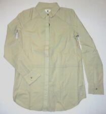 New Burton Womens Ollie Long Sleeve Button Up Cotton Casual Woven Shirt Top