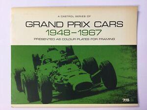 A Castrol Series of Grand Prix Cars 1948-1967