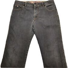 Alberto Mens  Stretch Jeans 35x34 Stone Dark Wash