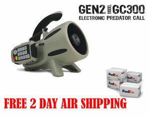 ICOtec GC300 GEN2 Call of the Wild Electronic Game Call Predator 12 Calls