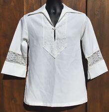New listing Vintage 60's Liberty House Hawaiian Tiki Luau Hippie Shirt Medium