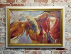 Charles Bragg - The Falcon - Oil painting