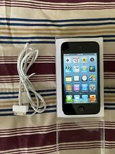Apple iPod Touch 4th Generation - Black (8 GB) Bundle W/ Cable & Charger