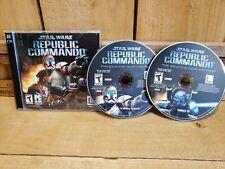 Star Wars: Republic Commando - PC CD Computer Game Case Disc's and Code
