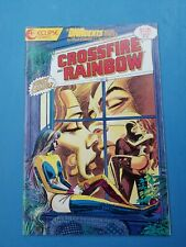 DNAgents  Mini Series Crossfire And Rainbow 1 Eclipse Comics 1986