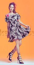DENNY ROSE ABITO vestito art. 45dr12020 tg.42 e tg. 44 con spilla fiore