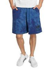 ADIDAS Tie Dye Shorts Legend Ink Blue Active Big Trefoil CW1339 Men's M New