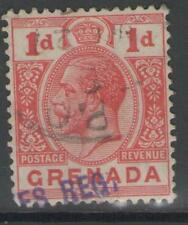 GRENADA SG91 1913 1d RED USED