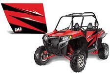 Polaris Ranger RZR S 570 800 Xp 900 Doors w/ Red Sticker Graphics Kit 800S XP900