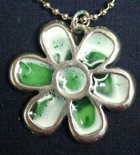 Sherbet Flower pendant (green)