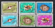 Animaux Coquillages Madagascar (102) série complète 6 timbres oblitérés