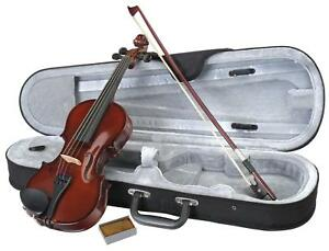 1/8 Geige Violinenset Set Violine Geigenset Kindergeige Schülergeige + Koffer