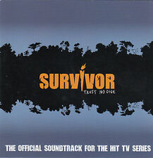 Survivor:Trust No One-2001-TV Series USA-Original Soundtrack-22 Track-CD