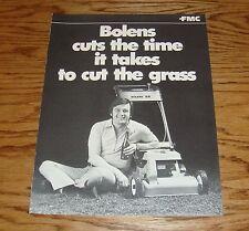 Original 1971 ? Bolens Mulching Mower Sales Brochure