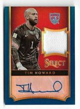 2015-16 Panini Select Soccer Jersey Auto Card : Tim Howard #04/20