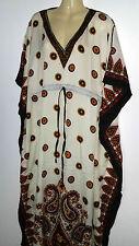 Strandkleid Sommerkleid Maxikleid Kaftan afrikanisches Kleid mit Kimonoärmel Goa