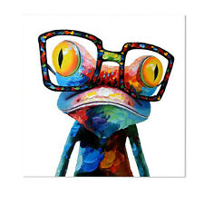 Animals Home Decor Frameless Huge Wall Art Colorful Oil Painting On Canvas