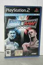 SMACKDOWN! VS. RAW 2006 GIOCO USATO PS2 VERSIONE ITALIANA PAL VBC 39369